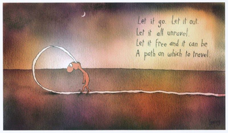 Let it go. Leunig