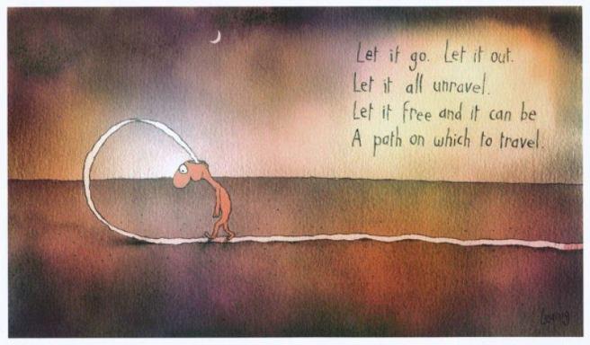 Let it go. Leunig